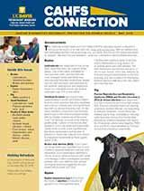 CAHFS Connection Newsletter May 2016
