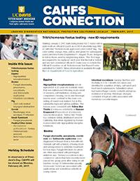 CAHFS Connection Newsletter February 2017