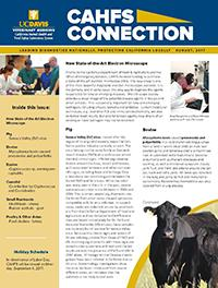 CAHFS Connection Newsletter August 2017