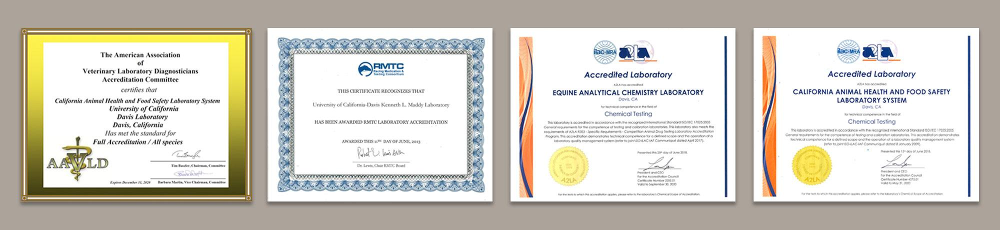 Quality Assurance and Accreditations